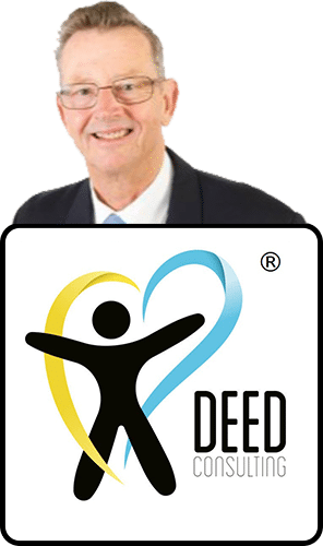 Deed Consulting Logo and Geoff Picture